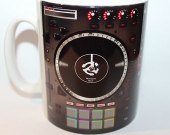 Custom Printed Nurmark NS72 DJ Controller Deck Music producer Mug / Mugs perfect for a Gift DJ Kitchen Work Office Studio Cup