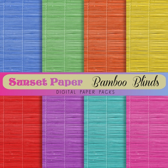 Paper Bamboo Blinds Paper Pack Bamboo Blinds
