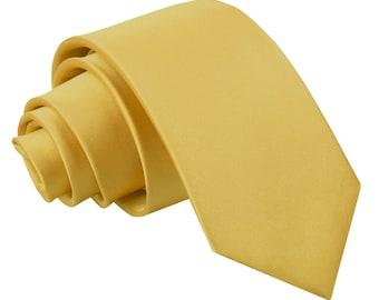Satin Gold Boy's Tie