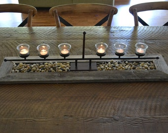 Tea Light Centerpiece Tray