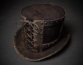 Steampunk Top Hat Victorian Tophat Men Women Hat Mens Hat Womans Hat Mad Hatter Hat Alice in Wonderland Hat Victorian Steampunk Hat Topper