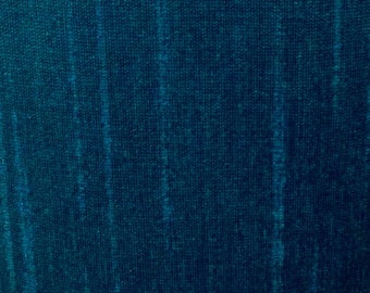 Blue-32 Silk Dupioni Shantung Fabric 100% Polyester for Apparel Home Decor By the Yard