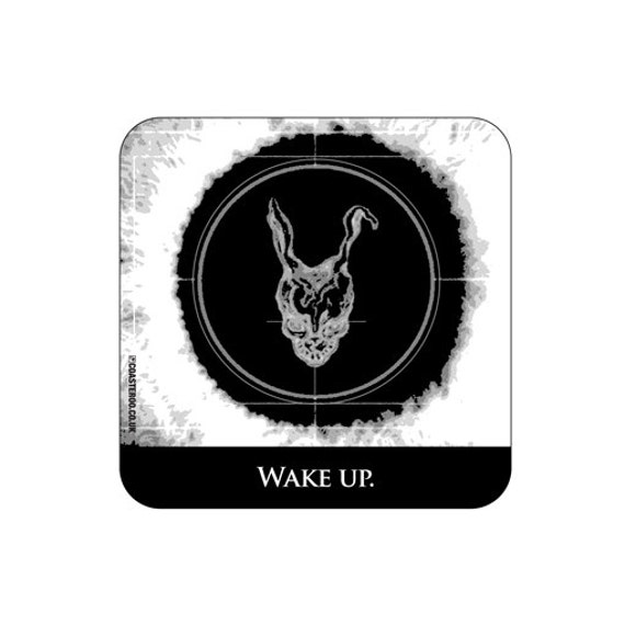 "Items similar to DONNIE DARKO - Drinks Coaster ""Wake Up ..."
