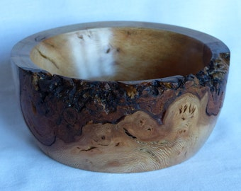 Burr Lace Wood Bowl