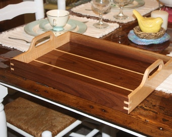 Handcrafted wood Serving Trays