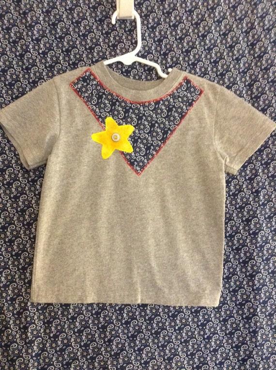 Infant/toddler/boy's western appliqué t-shirt