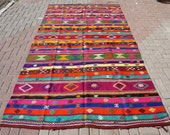 Items Similar To Ray Turc Kilim Color Tapis Moquettes