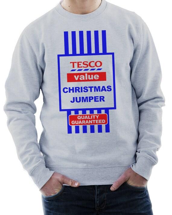 Tesco Value Funny Christmas Jumper