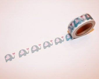 Elephants Washi Tape Rolls