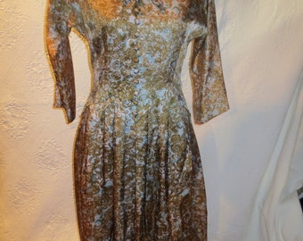 Lovely Leslie Fay 1960's Dress