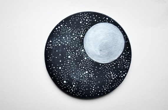 The Best Of Etsy - Moon Night Landscape