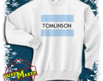 louis tomlinson flag sweatshirt one direction shirt louis tomlinson sweater WMODIR-4S
