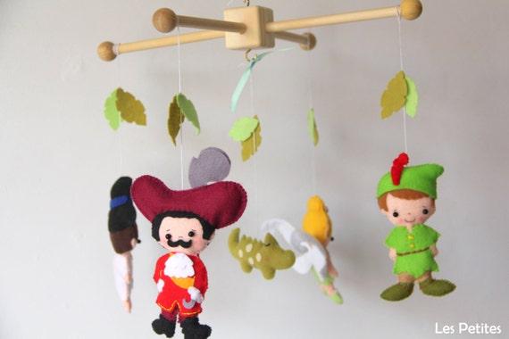 Peter Pan Mobile Baby Mobile Baby Crib Mobile Peter Pan