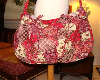 Large Boho Shoulder Bag.