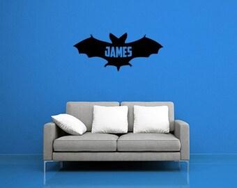 Custom Bat Mural DIY Wall Decal