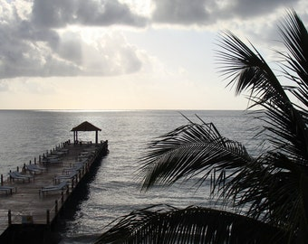 Riviera Maya Mexico Sunrise photographic print