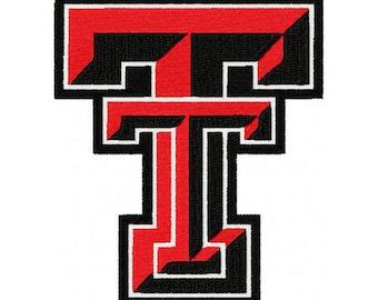 Texas Tech Embroidery