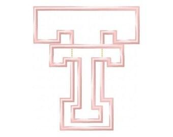 Texas Tech Applique