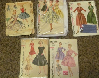 5 Vintage Sewing Patterns