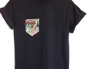 Marvel Comic Book Pocket T-Shirt