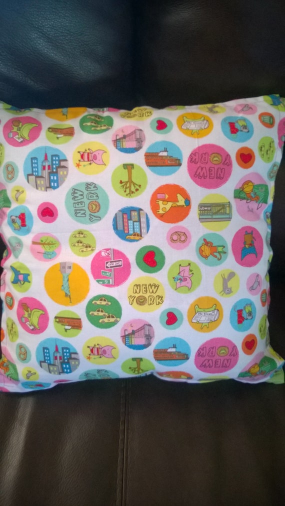 Items similar to 16 X 16 Fun New York Decorative Throw Pillows on Etsy