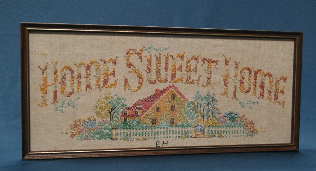 Home Sweet Home Sampler Embroidery and Needlework by ...
