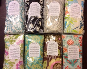 10 Lavender and Rice Eye Pillows - Great for Yoga, Gifts, or to Resell! Lavender Eye Pillow Aromatherapy