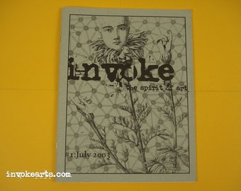 Invoke  the Spirit of Art / Arts Zine 1 Art in Nature / Nature in Art