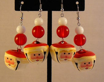 Santa Bell Earrings