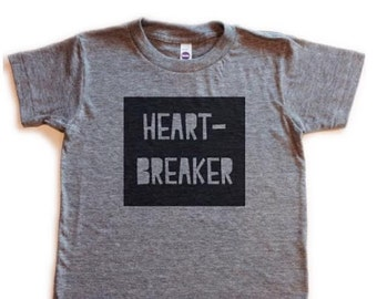 heart-breaker kids tee
