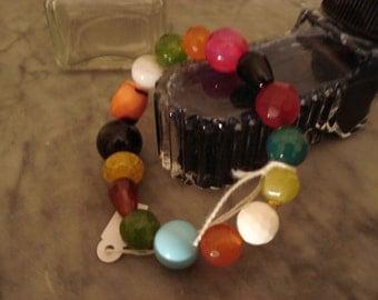 colorful elastic bracelet
