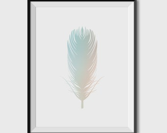 POSTER pen, interior decoration, printing pen in a gradient of warm and cold colours