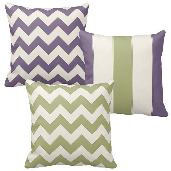 Sage Green Throw Pillows Purple Pillow Cover Lavender