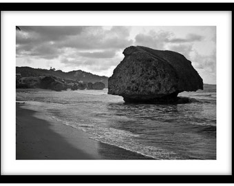 Bathsheba Beach, Barbados.  -   Photograph is printed in 308gsm Hahnemuhle fine art paper (Unmatted)