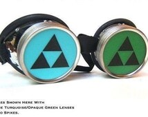 Legend of Zelda Decal Cyberpunk goggles
