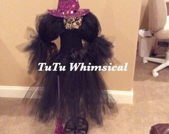 Wicked Witch tutu dress