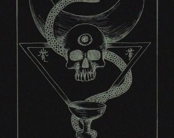 The principle of dark female spirit