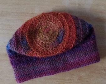 Kid's Spiral Hat- Color Mauna Loa