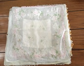 Day to Day Hankies, Bulk Hankies, Crochet Hankies, Bulk Handkerchiefs, Vintage Hankies, Floral Hankies, Imperfect Hankies, Cheap Hankies