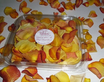 Fragrant Dried Petals for decoration. 1 Liter box (5 cups). buy 3 and get 1 for FREE!