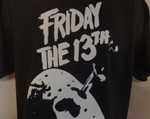Friday the 13th T-SHIRTUnisex Adults Horror Classics Vintage Shocker Splatter Gore Jason Voorhees