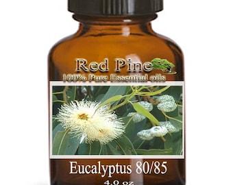 Eucalyptus 80/85 Essential Oil - Eucalyptus globulus - 100% Pure Therapeutic Grade