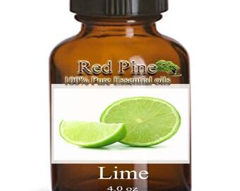 Lime Essential Oil - Citrus aurantifolia - 100% Pure Therapeutic Grade