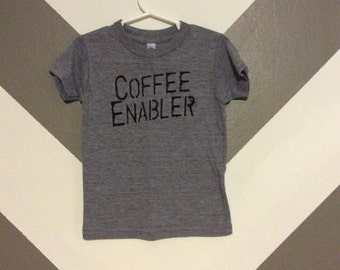 Coffee Enabler Kid's Triblend Tee