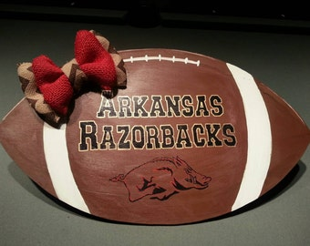 Razorback Football Door Sign