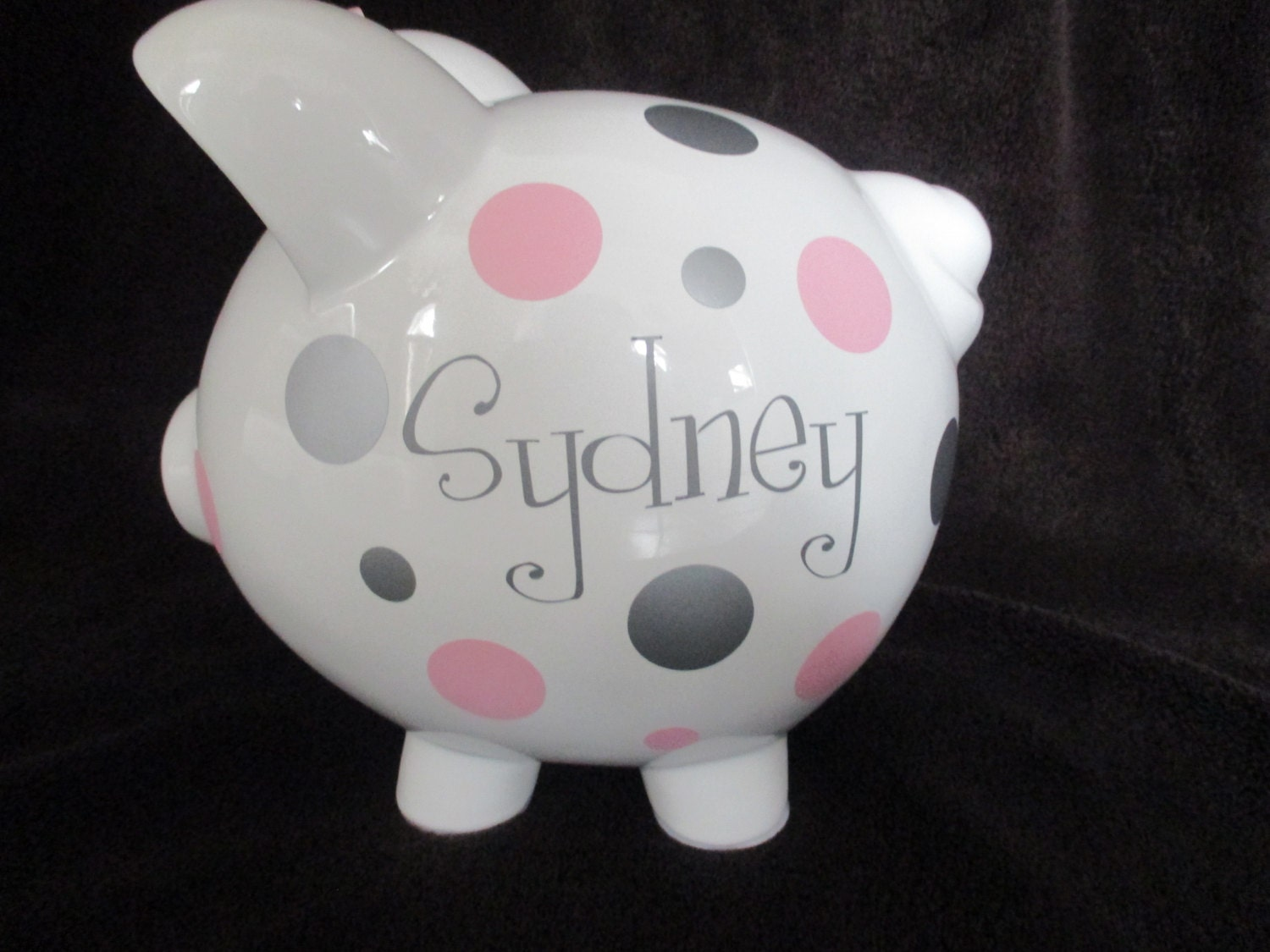 Personalized piggy banks for How to make a piggy bank you can t open