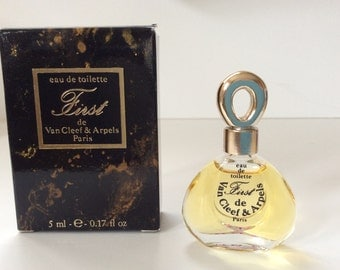 """Perfume mini """"First"""" by Van Cleef & Arpels. Made in France"""