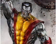 The X-man made of inpenetrable metal...Colossus!