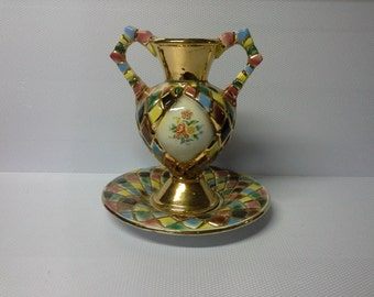 Beautiful antique vase ceramic