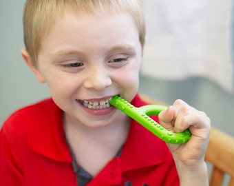 ARK's Textured Grabber Oral Motor Chewing Tool